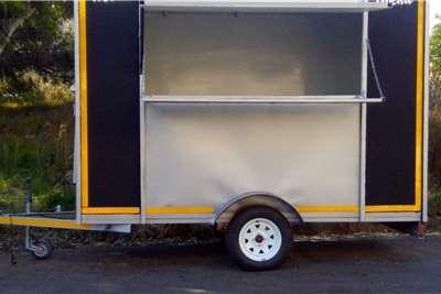 Custom Food Kitchen Trailer Trailers