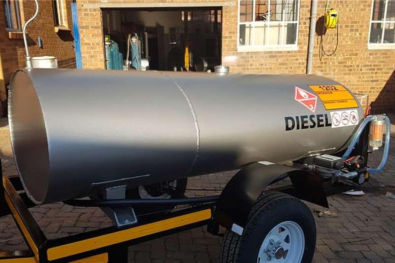 Custom Fuel tanker 1500 Litre Bowser Diesel, Petrol, Paraffin Trailers
