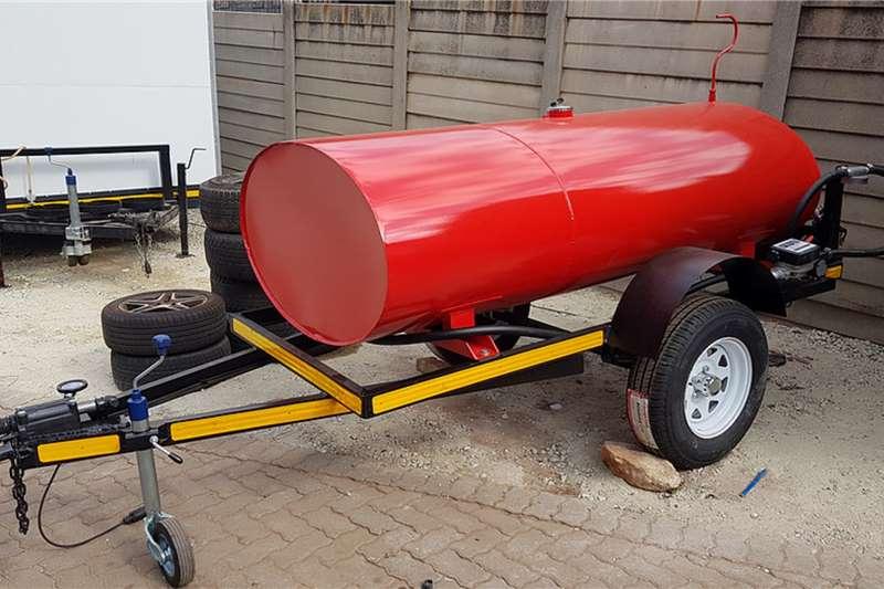 Custom Fuel tanker 1500 Litre Custom Diesel Bowser Trailers