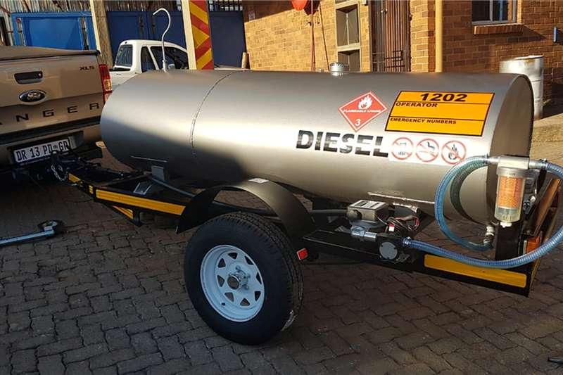 Custom Fuel tanker 1500 Litre Trailer Tanker Trailers