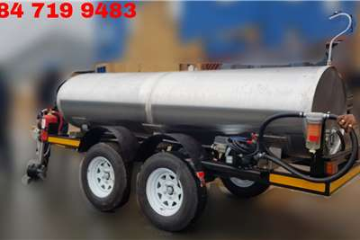 Custom Fuel tanker 2000 Litre Bowser Diesel, Petrol, Paraffin Trailers