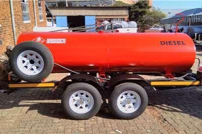 Custom Fuel tanker 2000 Litre Custom Diesel Bowser Trailers