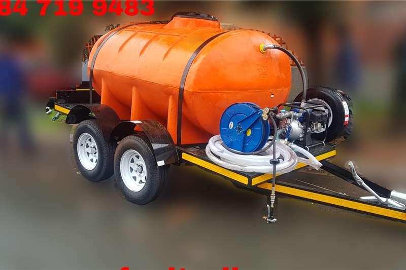 Custom Fuel tanker 2500 Litre Trailer Tanker Custom Trailers