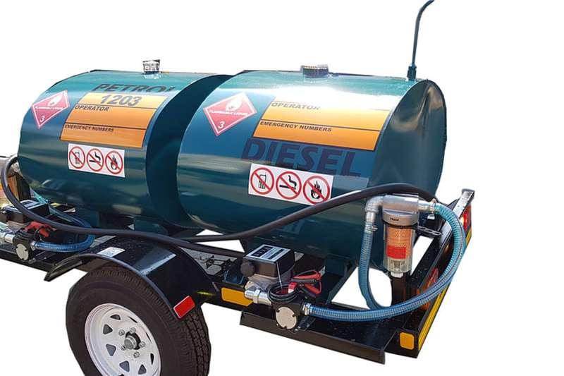 Custom Fuel tanker 500 Litre Custom Trailer Tanker Trailers
