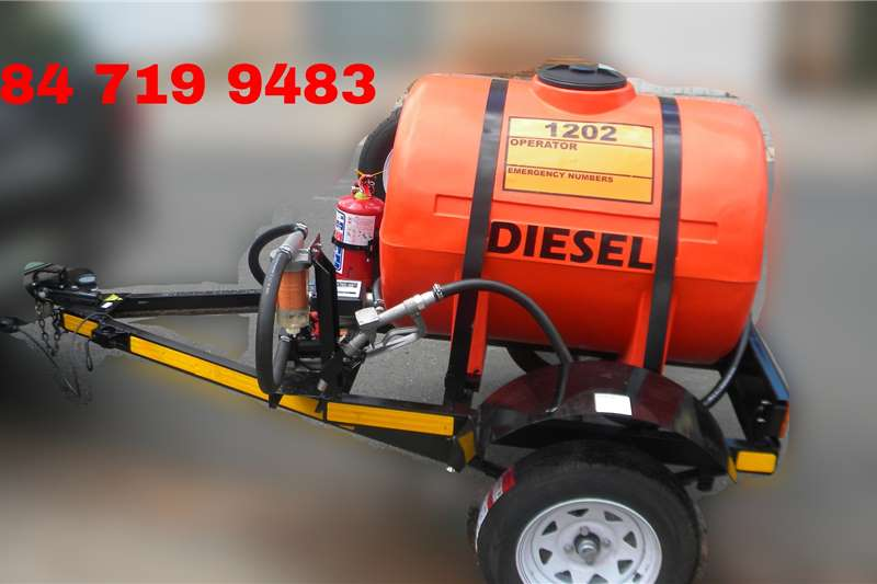 Custom Fuel tanker 500 Litre Trailer Tanker Custom Trailers