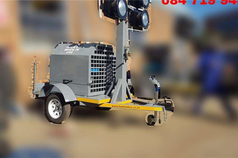 Custom Light Tower Plant Mobile Trailers
