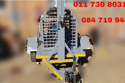 Custom Light tower trailers Light Tower Plant Trailers