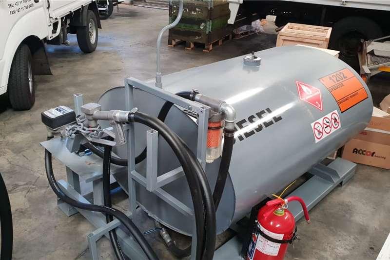 Custom Tank on Stand or Ski Trailers