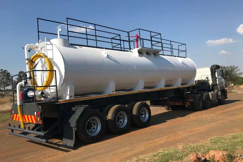 Custom Water bowser trailer 30000L Fire fighter & dust suppression tanker 2019