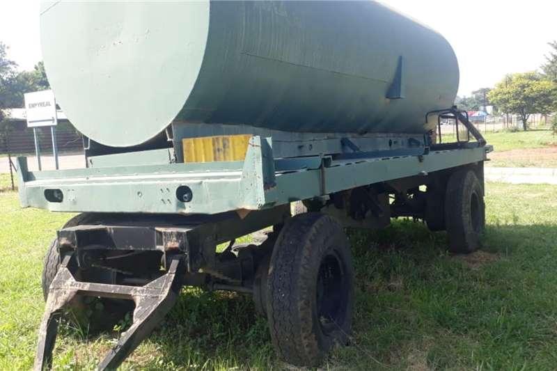 Custom Water bowser trailer WATER TANKER TRAILER 10 000 LITRE