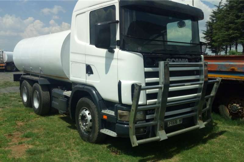 Custom Water bowser trucks Scania 144G 460 with 18000L water tank 2003