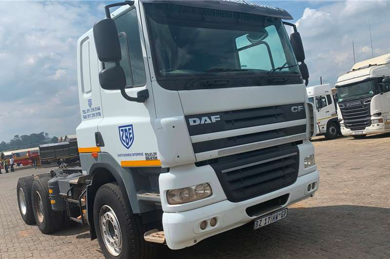 DAF Truck-Tractor Double Axle DAF 85-410 2012