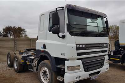 DAF Double axle Cf85.410 low km, clean Truck tractors