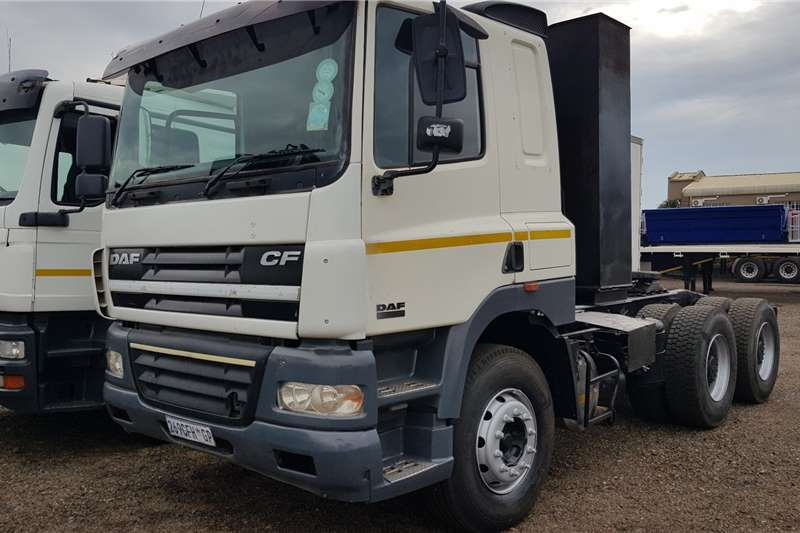 DAF Truck Tractors Double Axle DAF CF85.430 6x4TT Manual 2006