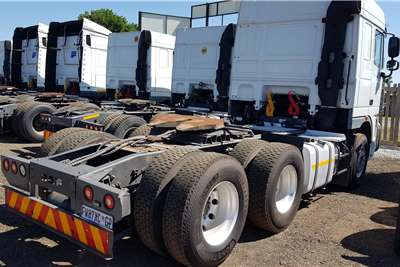 DAF Double axle XF105.460 Retarder, FSH by Agents Truck tractors