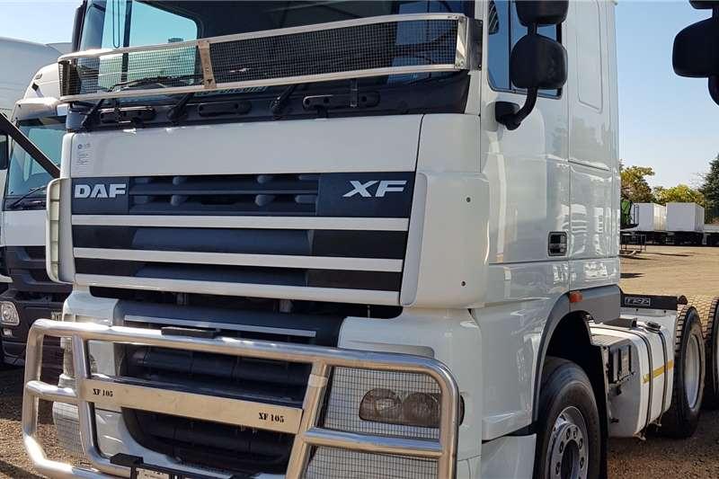 DAF XF105.460 Retarder, FSH By Agents Truck tractors