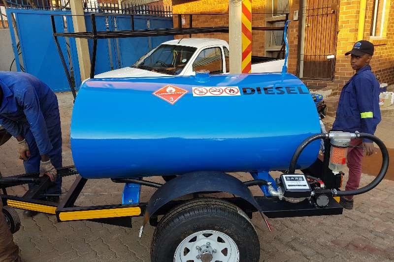 Diesel bowser trailer 1000 liter diesel trailer 2019