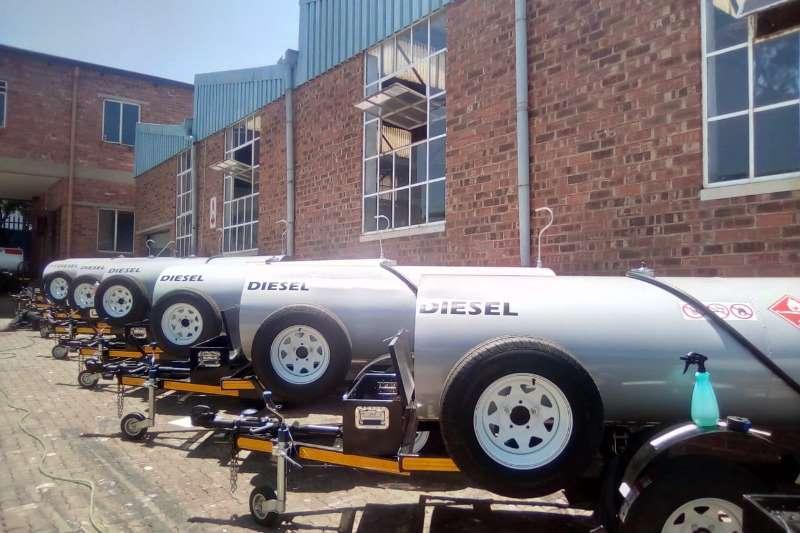 Diesel bowser trailer 1500 Liter Diesel boswer 2019