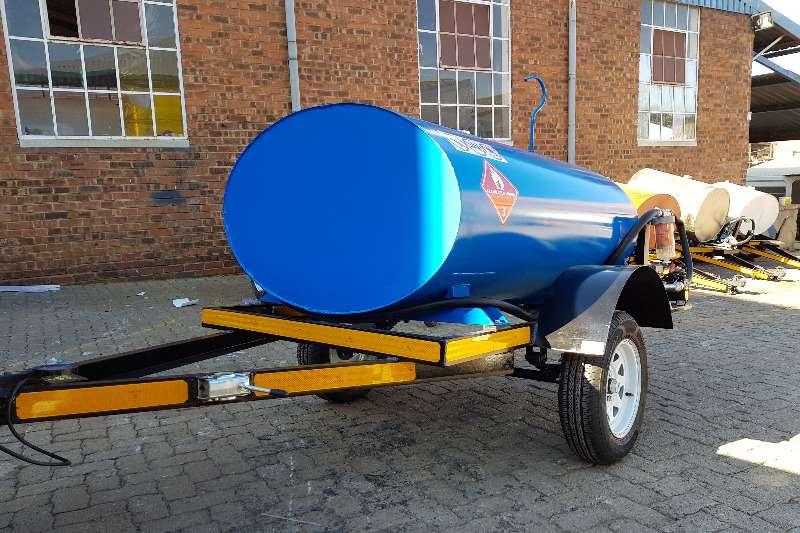 Diesel bowser trailer 1500 liter diesel trailer 2019