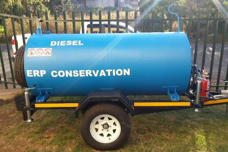 Diesel bowser trailer 2500 liter Diesel trailer 2019