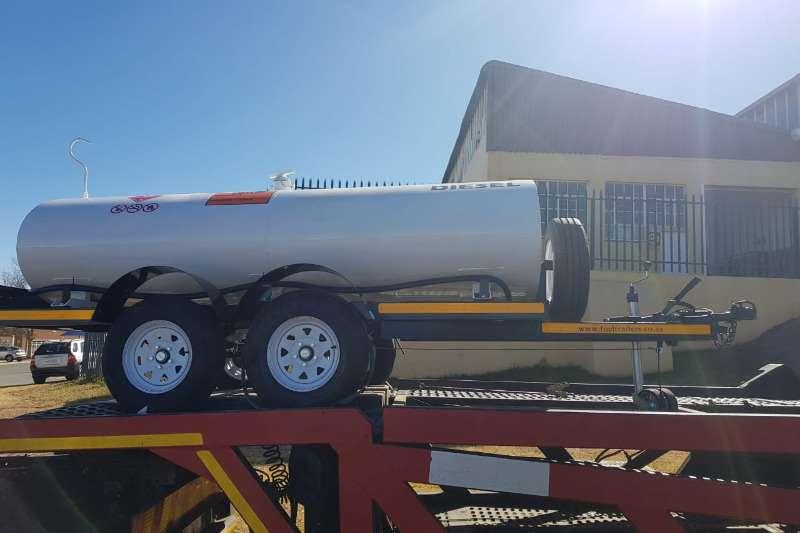 Diesel bowser trailer 3000 liter diesel bowser 2019