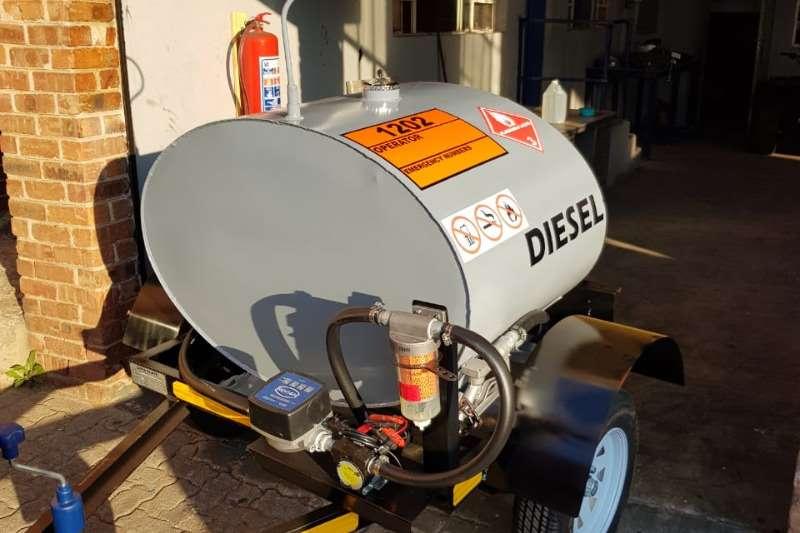Diesel bowser trailer 500 liter diesel trailer 2019