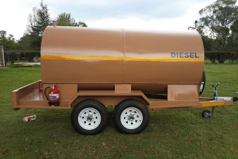 Diesel bowser trailer 5000 liter trailer 2019