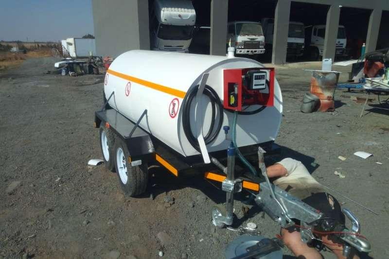 Diesel bowser trailer New 2000Lt Diesel trailer, Electric pump with mete 2019