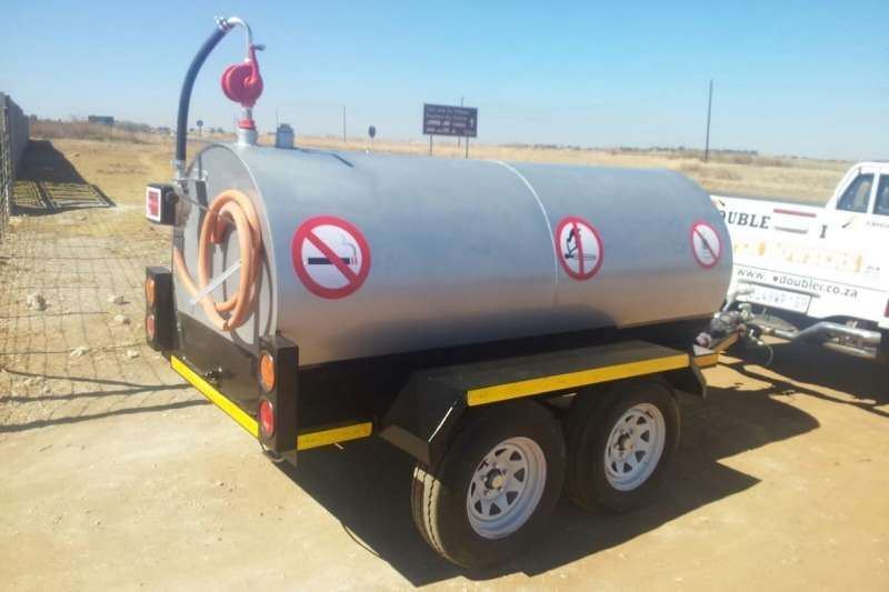 Diesel bowser trailer New 2000Lt Diesel Trailer with hand pump and meter 2019