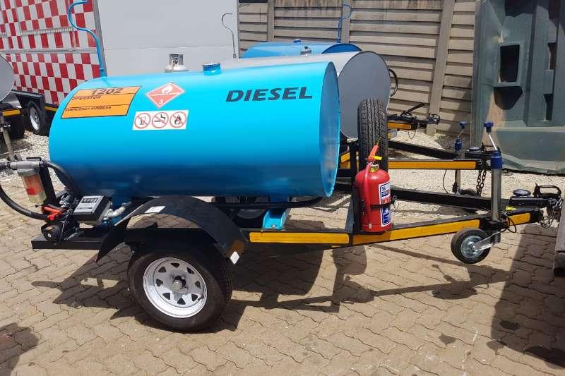 Diesel tanker 1000 liter diesel trailer 2019