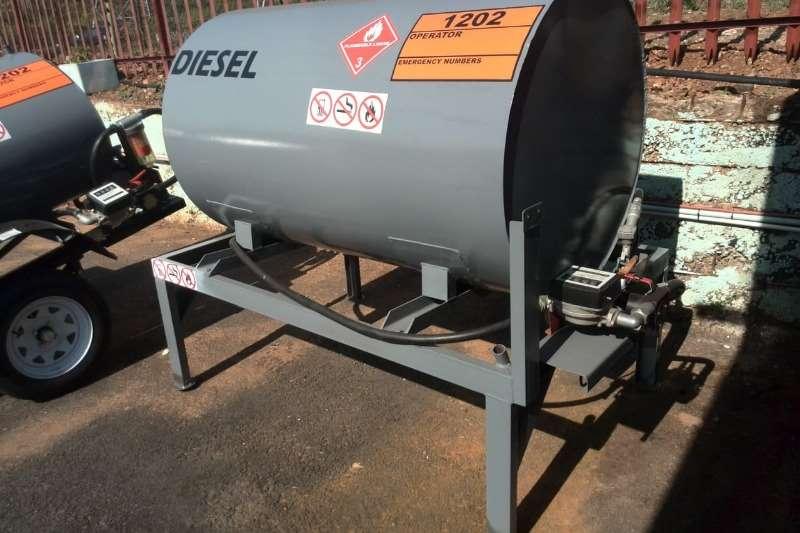 Diesel tanker 1000L Mild Steel Tank on Stand 2019