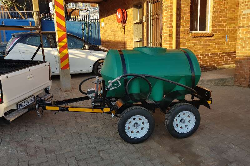 Diesel tanker 1000l plastic trailer 2019