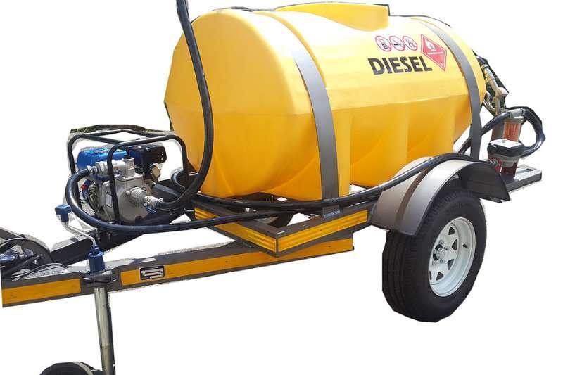 Diesel tanker 1000Lplastic  tank 2019