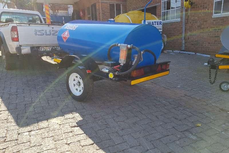 Diesel tanker 1500 liter diesel trailer 2019