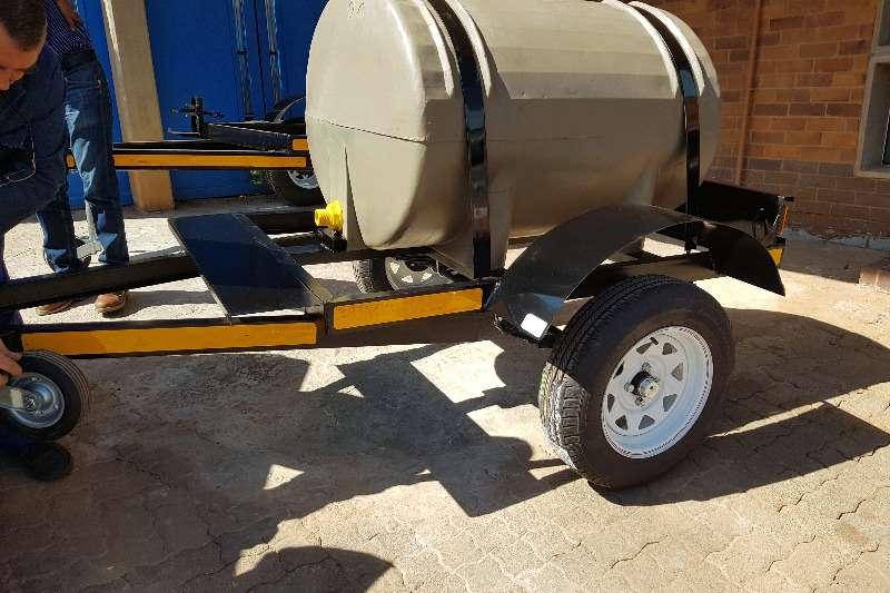Diesel tanker 500l plastic trailer 2019