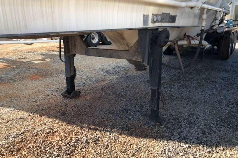 Duncan Dry bulk tanker Duncanmec 35m³ Tri Axle Dry bulk Trailers