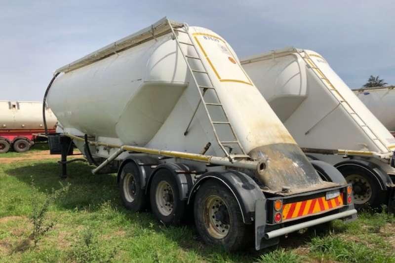 Duncanmec Trailers Dry bulk tanker 2001   2008 TEE and Duncanmec 3 axle Drybulk