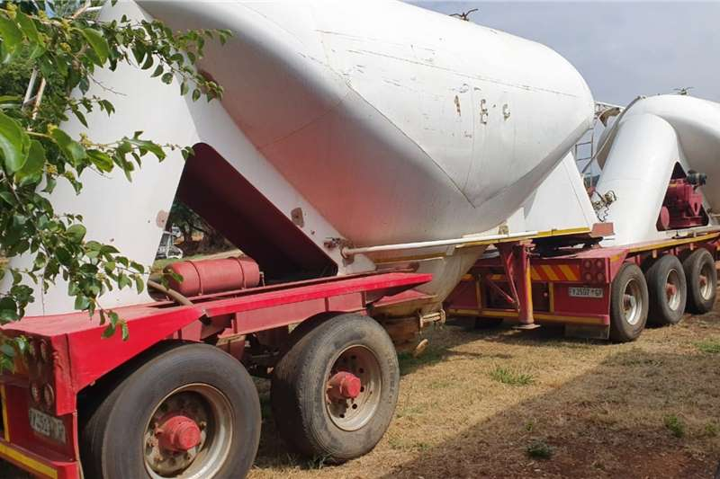 Duncanmec Trailers Dry bulk tanker DUNCAMAC SPITZER DRY BULK LINK 1998