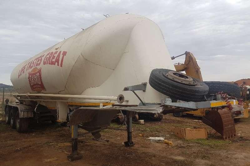 Duncanmec Trailers Dry bulk tanker Duncanmec Dry Bulk Tanker 1998