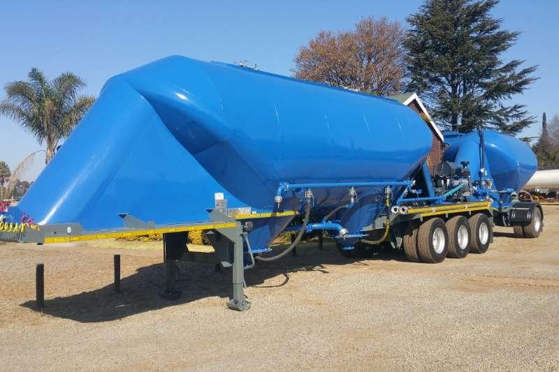 Duncanmec Trailers Dry bulk tanker Spitzer bulk tanker & pup 2020
