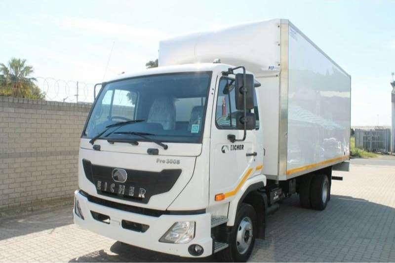Eicher Box trucks PRO 3008 4 Ton 2019