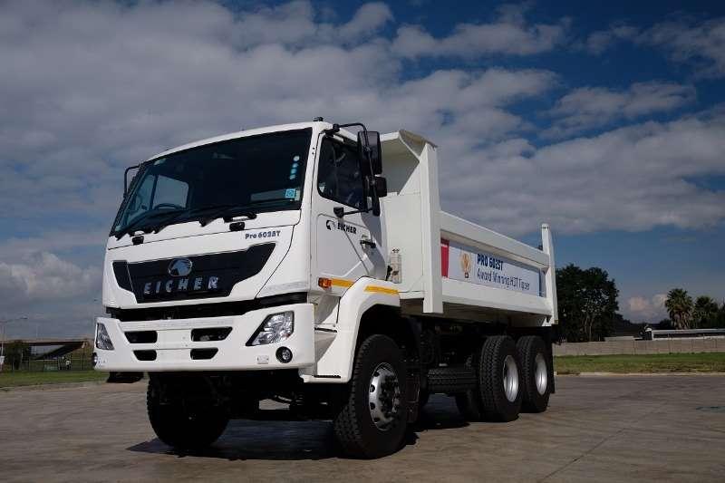 Eicher Truck Tipper New Eicher PRO 6025T 10m3 Tipper 2019