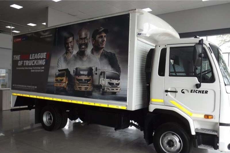 Eicher Truck Van body EICHER PRO 3008 2020