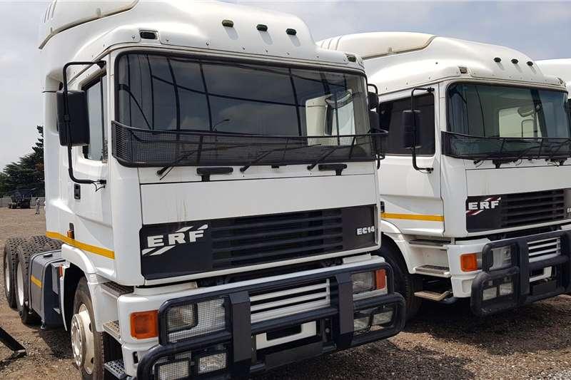 ERF Truck tractors Double axle 5 x ERF EC14 Refurbished N14 Celect Plus