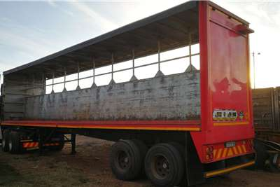 ETE Curtain side 12m Trailers