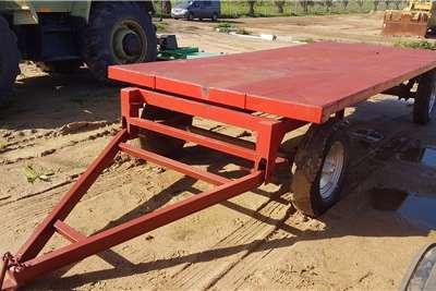 4.3 meter Flat Deck Farm Trailer Farm trailer