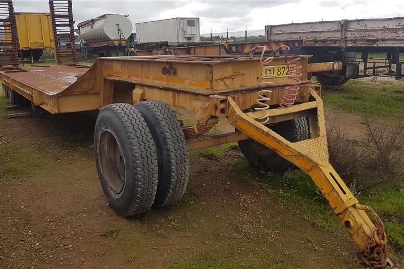 Farm Trailer Lowbed JB Drawbar Lowbed Low Speed Trailers