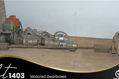 Motored Gearboxes Farming spares