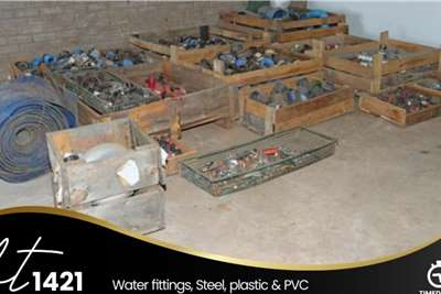 Water Fitting, Steel, Plastic and PVC Farming spares