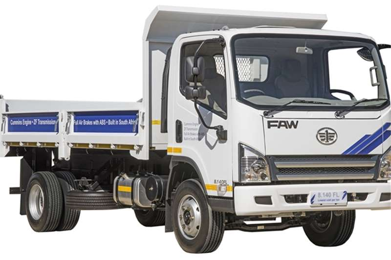 2020 FAW  8.140FD - New 3m3 Tipper